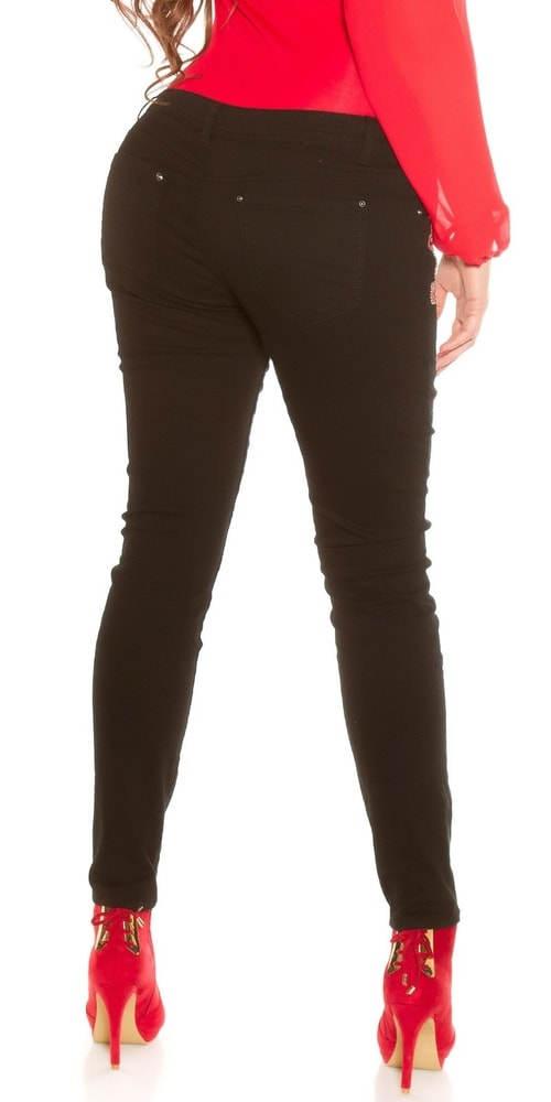 Černé XXL džíny