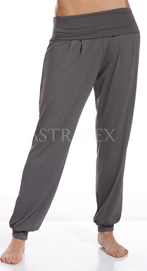 Dámské kalhoty v harémovém střihu