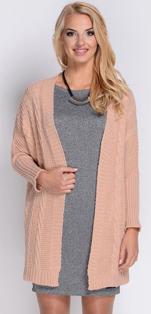 Dámský svetr přes šaty