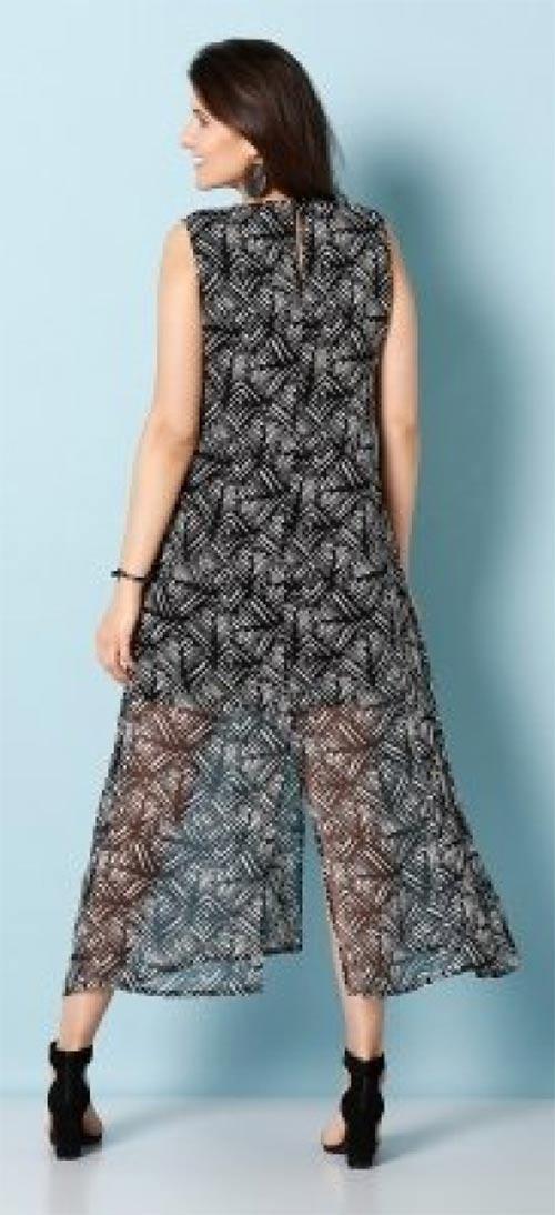 Dlouhé letní dámské šaty