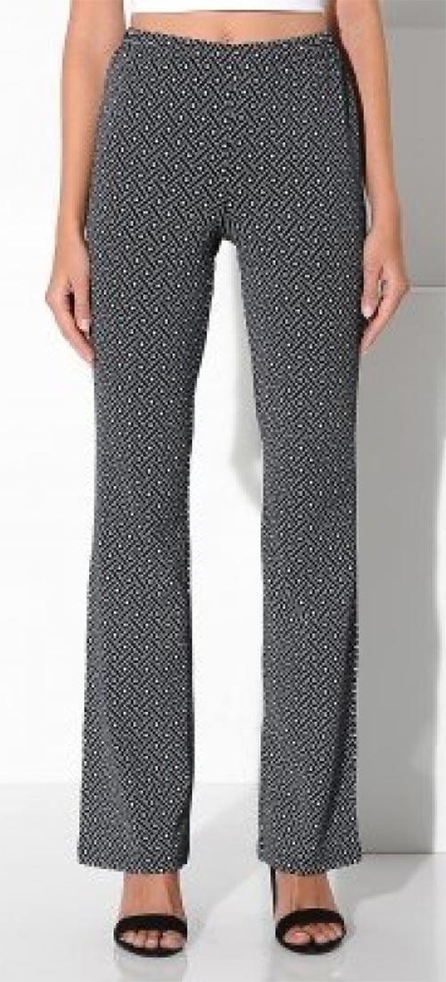 Pohodlné dámské kalhoty