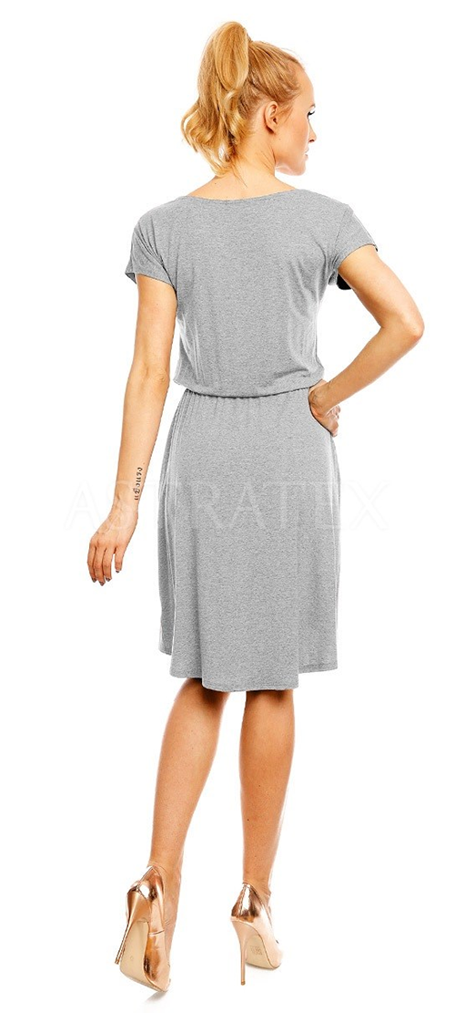 Společenské šaty ke kolenům