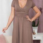 Dámské elegantní XXL šaty