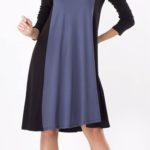 Dámské šaty volného střihu vhodné i pro těhotné