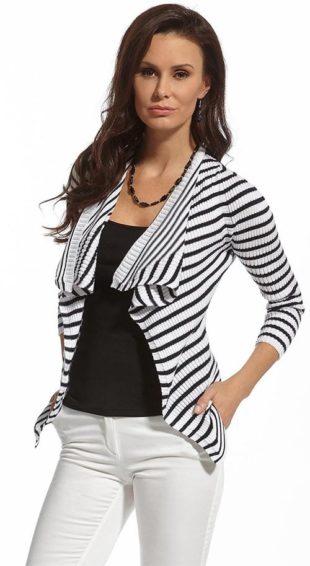 Lehký svetr přes ramena typu kardigan