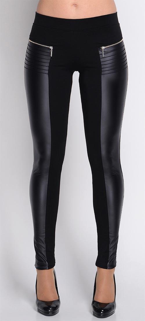 Skvělé XXXL legíny imitující kalhoty