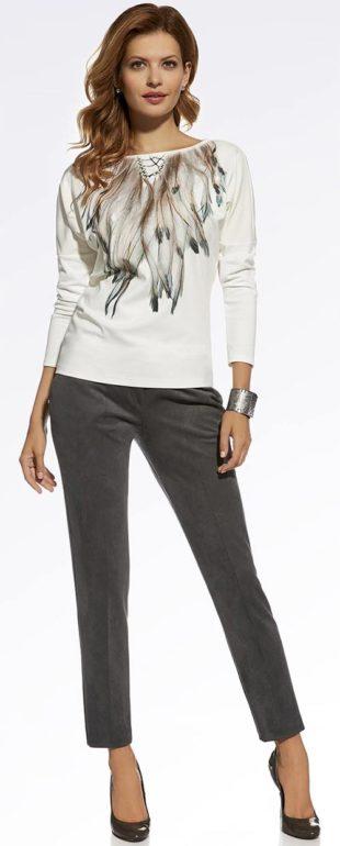 Společenské dámské kalhoty Ennywear