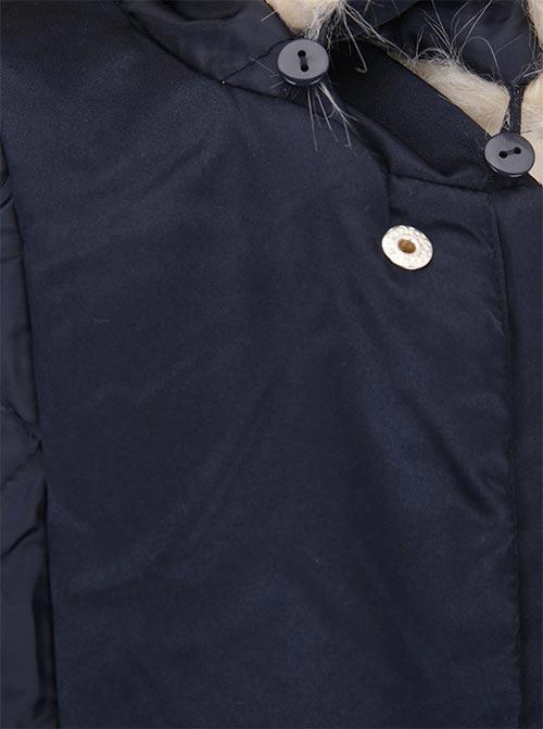 Velká dámská bunda s odepínací kapucí