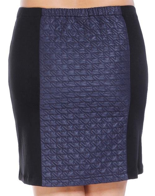 Pružný pas u sukně