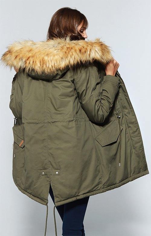 Velká dámská zimní bunda