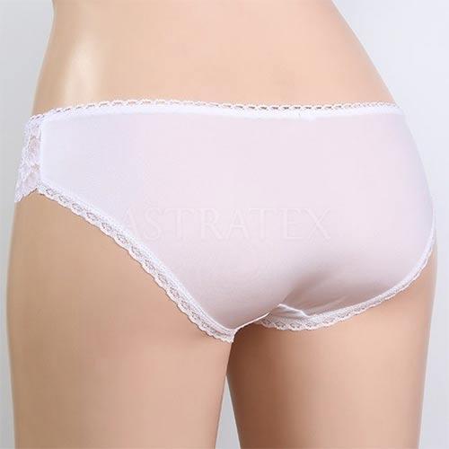 Bílé XXXL kalhotky