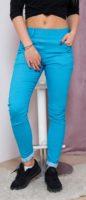 Dámské XL slim kalhoty