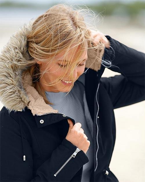 Francouzská zimní bunda