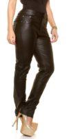 Kožené kalhoty pro baculky