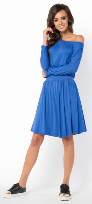 Letní dámské šaty ve volném střihu