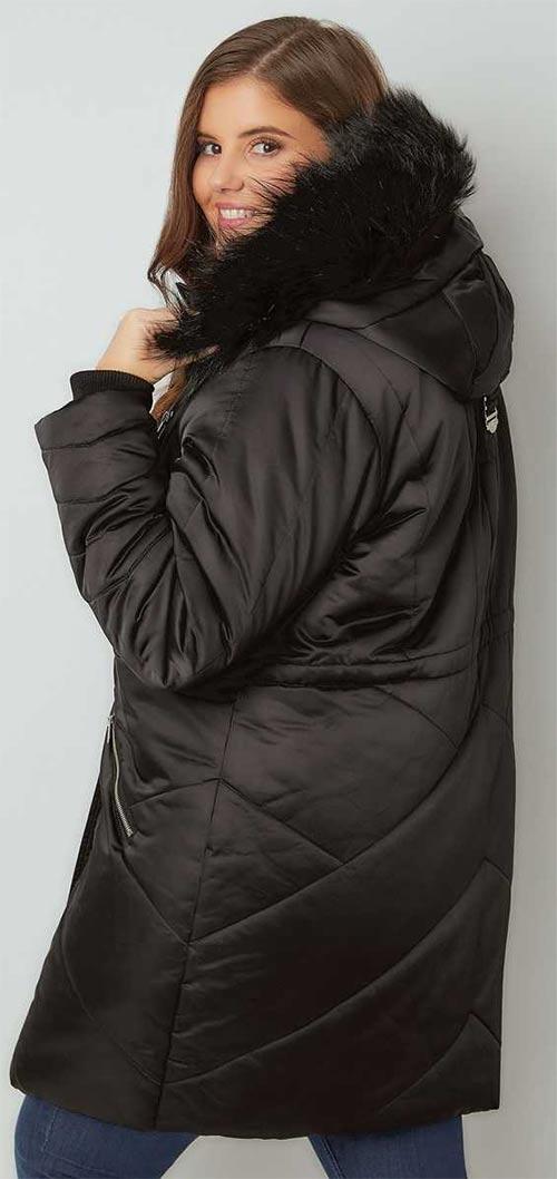 Moderní zimní bunda