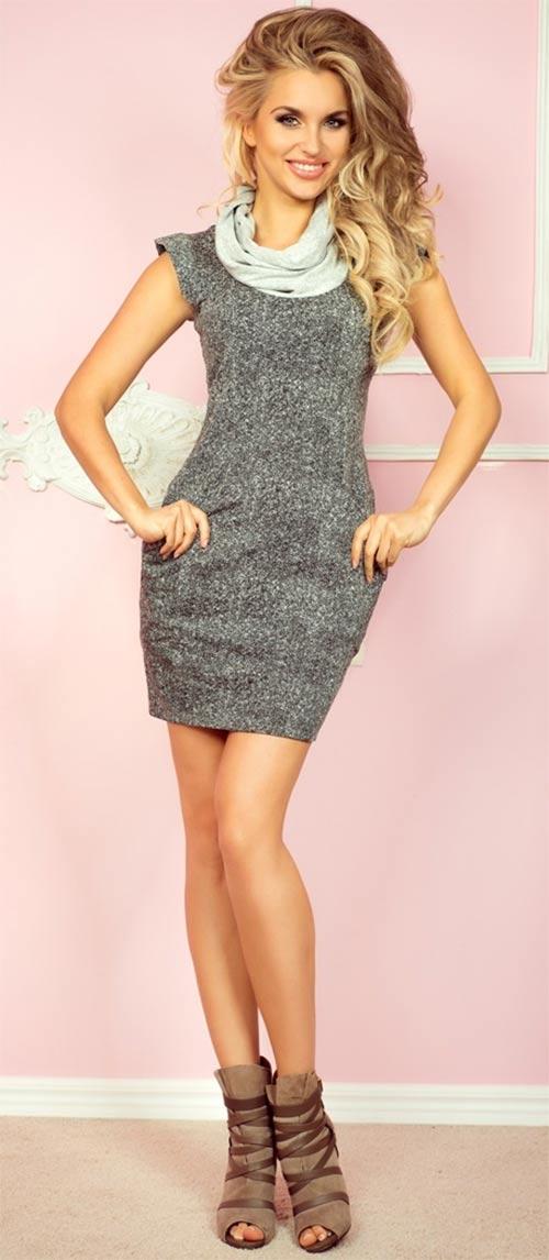Podzimní XXL šaty