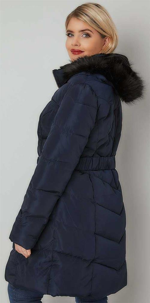 Zimní bunda vhodná i pro těhotné