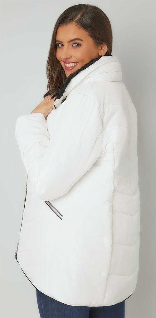 Zimní bunda vhodná pro těhotné