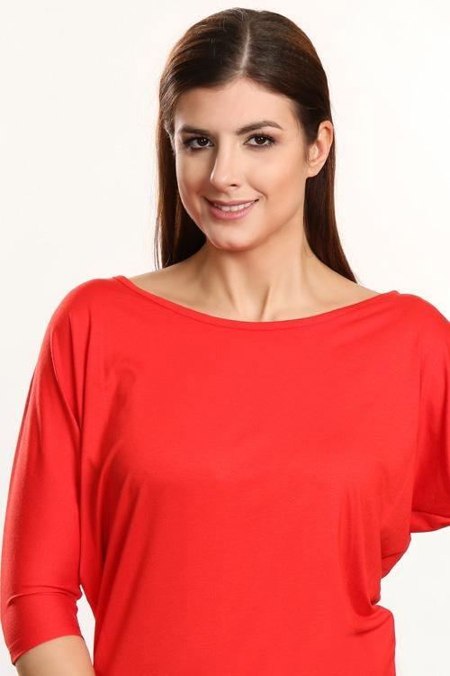 Červená dámská tunika