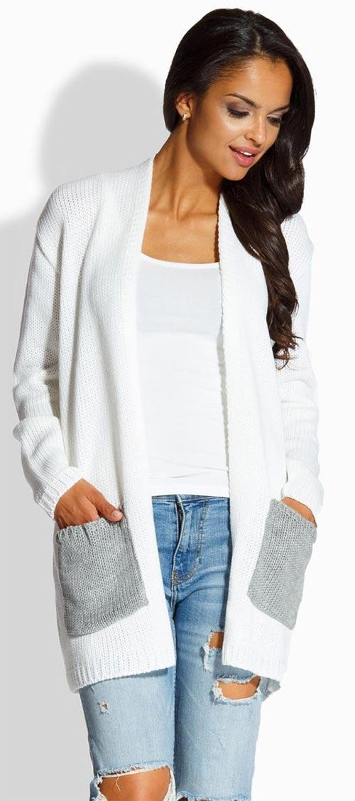 Pletený svetrový kabátek Lemoniade Envy Me