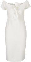Pouzdrové šaty s mašlí