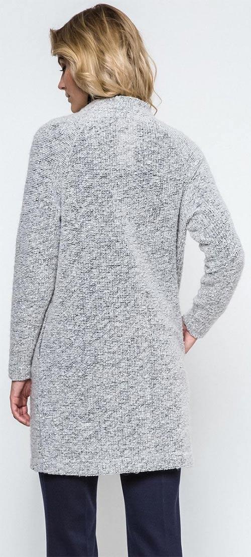 Zimní svetr pro silnější postavy