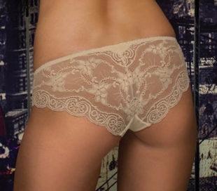 Přepychové kalhotky z průsvitné krajky