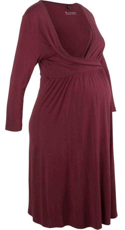 Šaty pro pohodlné kojení