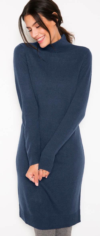 Úpletové zimní šaty se stojáčkem dff5e352bb