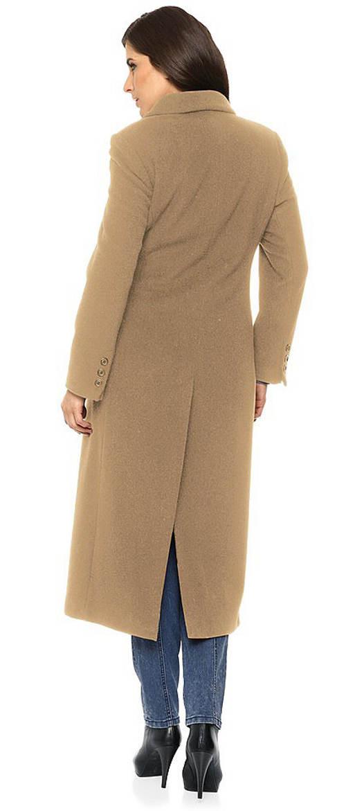 Dámský kabát nadměrných velikostí