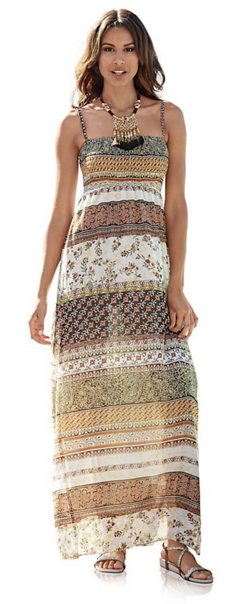 Dlouhé letní maxi šaty