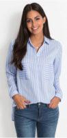 Košilová tunika s límečkem