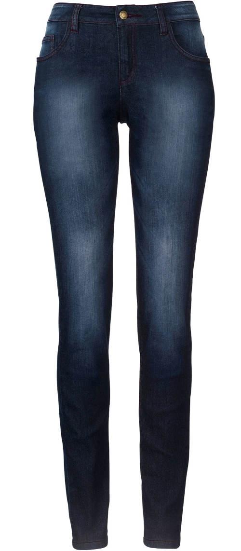 Strečové džíny s vyšoupáním