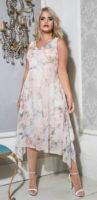 Asymetrické šaty s vodou