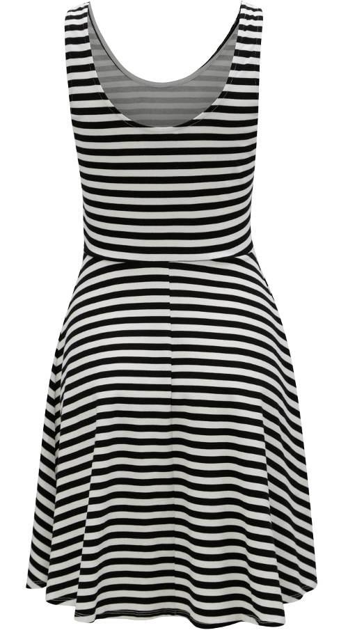 Pohodlné letní bavlněné šaty