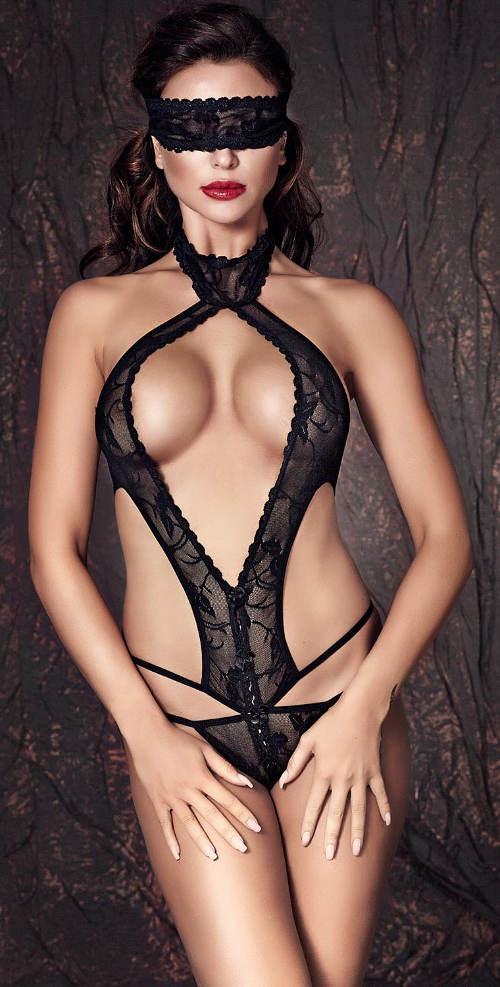 XXXL erotické body z italské krajky