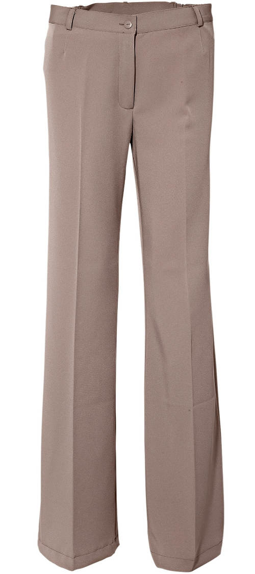 Béžové nadměrné kalhoty