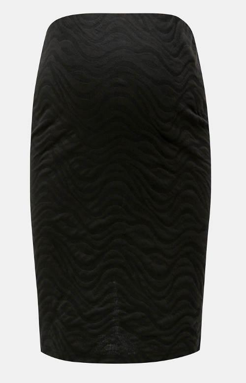 Černá těhotenská sukně