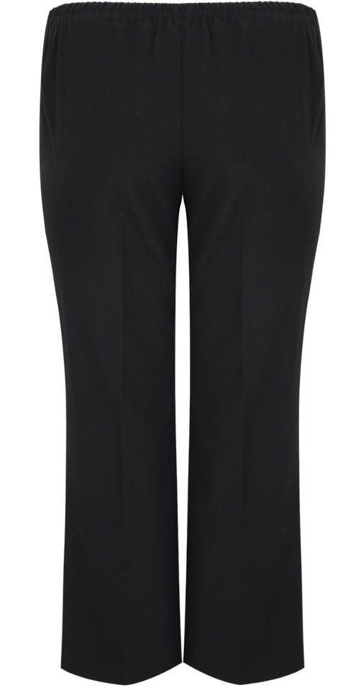 Černé společenské kalhoty Petrklíč