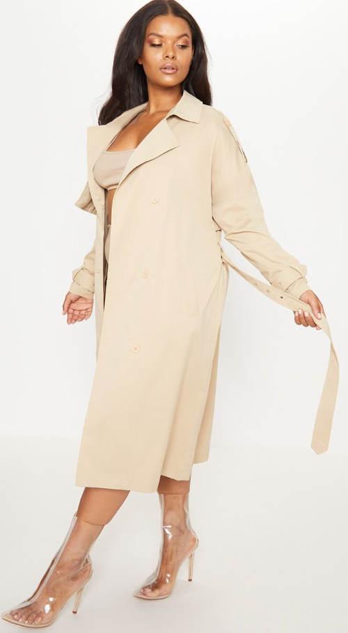 Dámský kabát na podzim a jaro