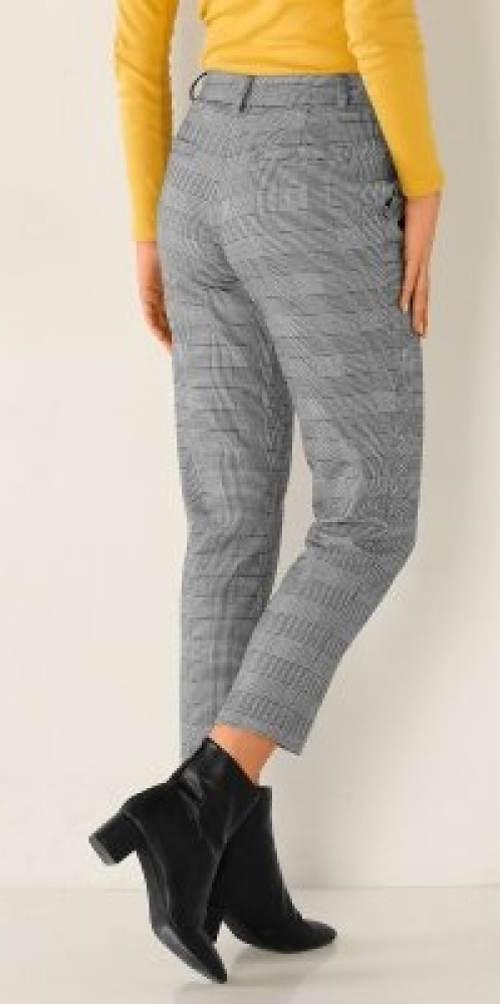 Kratší podzimní dámské kalhoty