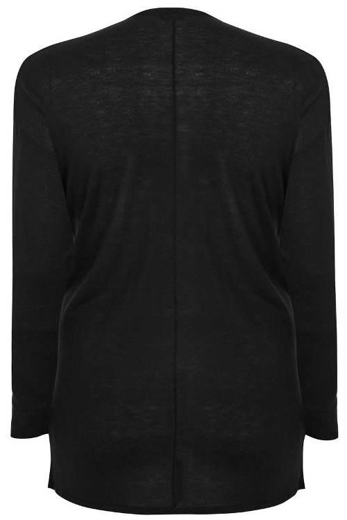 Lehký svetr bez zapínání