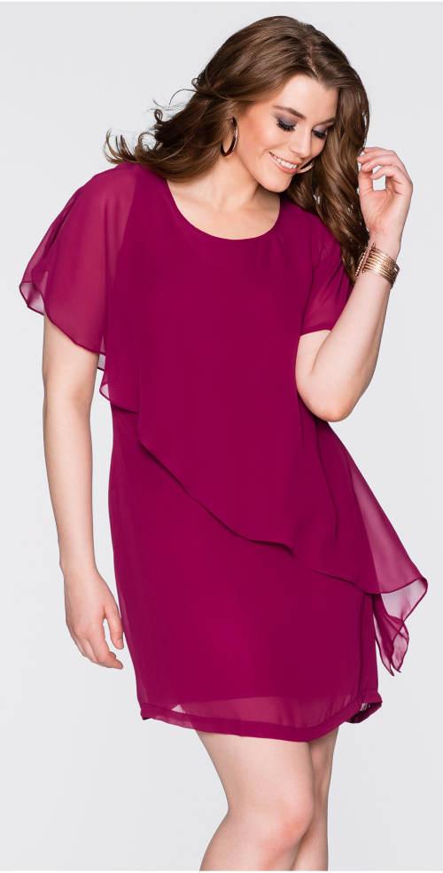 Lehounké šaty pro plnější tvary