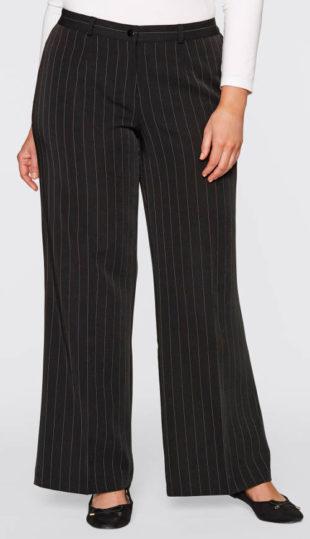 Levné strečové kalhoty pro baculky