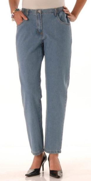 Pohodlné džíny pro vyšší silnější postavu