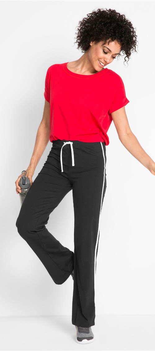 Teplákové kalhoty na cvičení