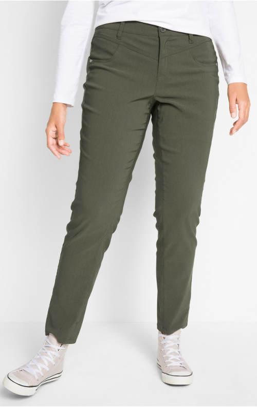 Dámské zeštíhlující kalhoty