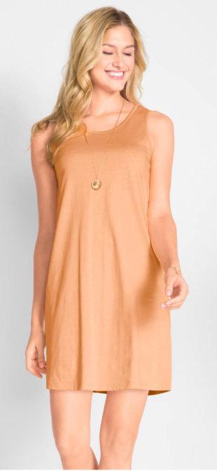 Levné bavlněné dámské letní šaty