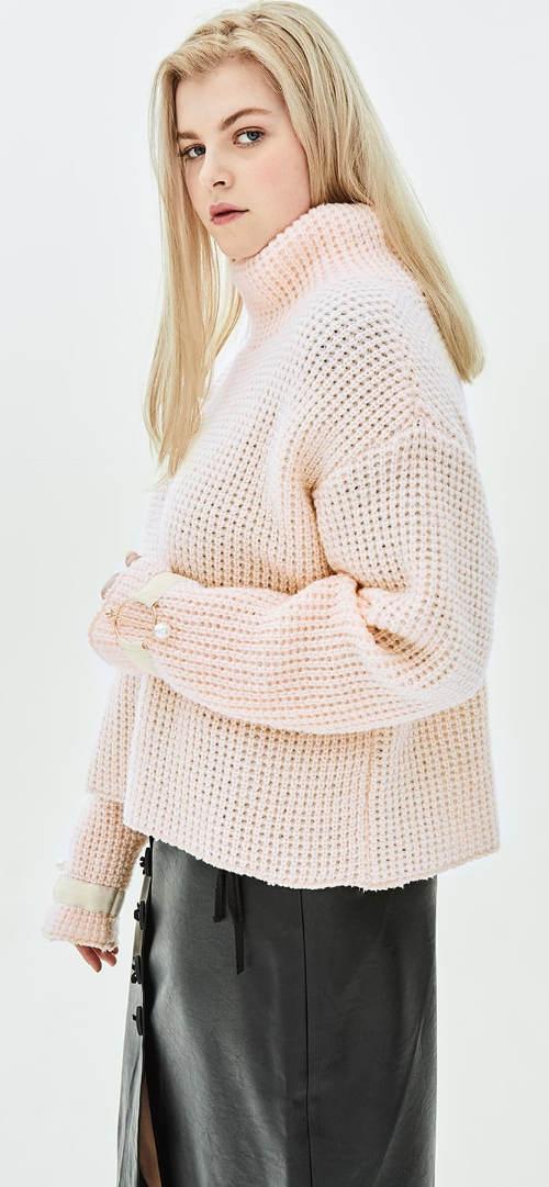 Pohodlný zimní svetr
